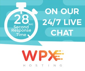 WPX hosting support